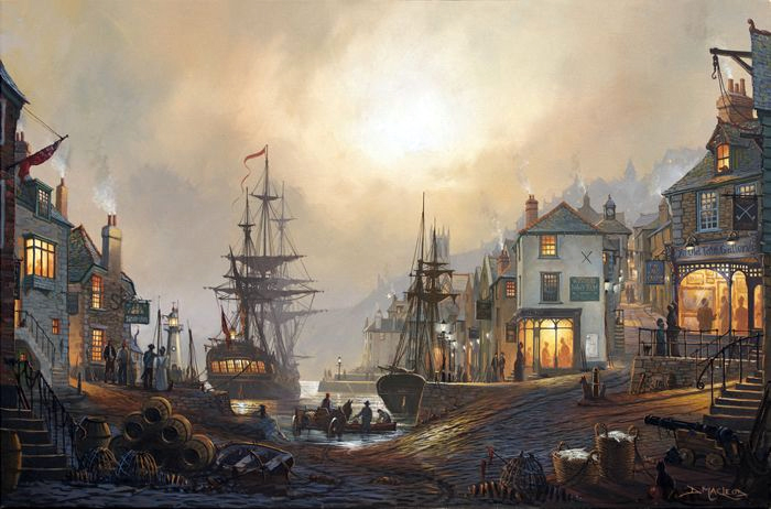 Maritime Art by Donald Macelod